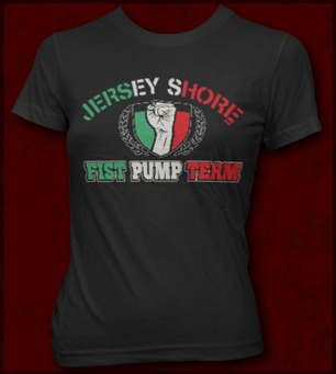 JERSEY SHORE FIST PUMP TEAM